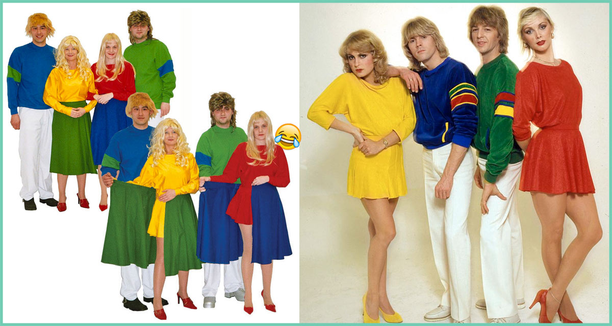 Bucks Fizz costume