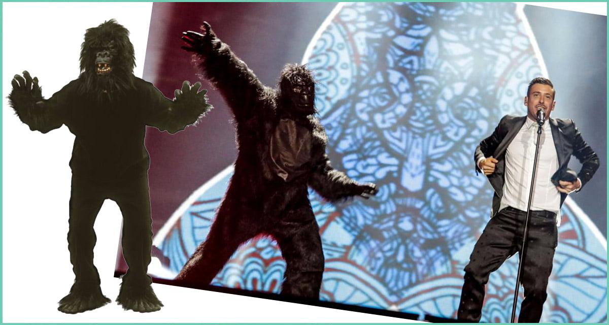 Eurovision dancing gorilla